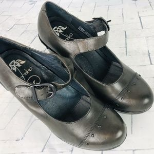 DANSKO Fanny Mary Jane Wedge Heel Shoes